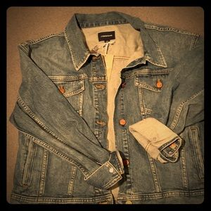 Brand new J. Crew Eco denim  jacket in Indigo wash